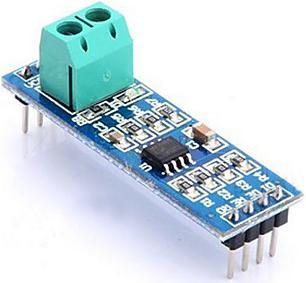 Модуль RC006. Преобразователь интерфейсов TTL в RS485 на базе микросхемы MAX485