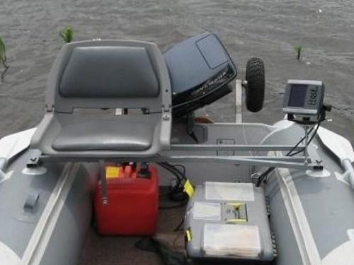 Модернизация лодки из ПВХ