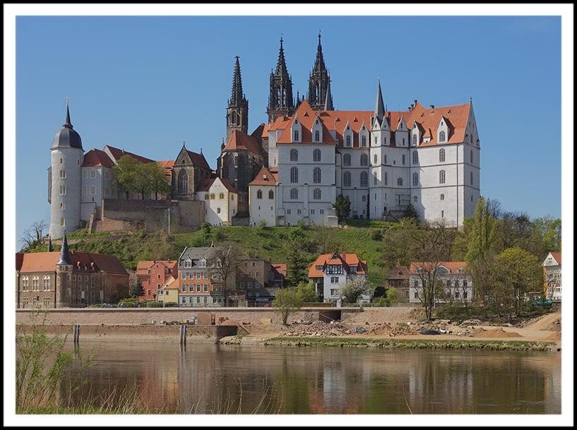 Замок Альбрехтсбург в г.Мейсен