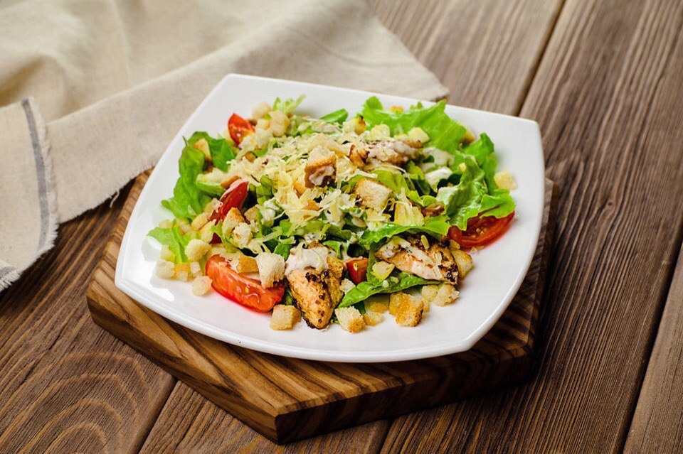 Вкусные салаты