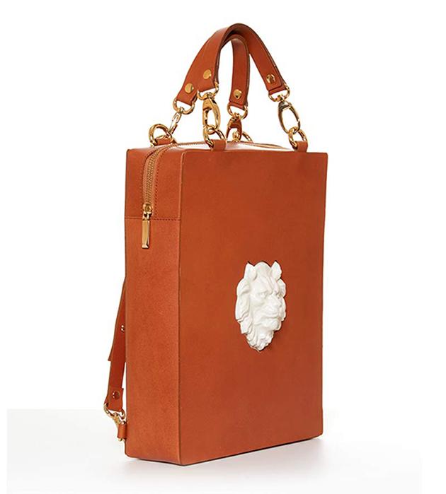 рюкзак из натуральной кожи Bagpack Lion Caramel от ANDRES GALLARDO
