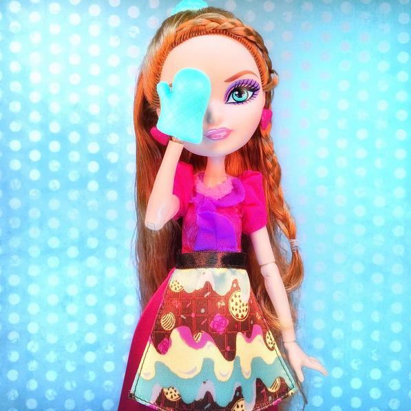 Кукла Холли - Покрытые Сахаром