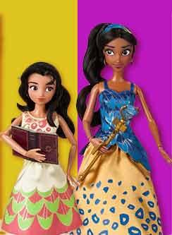 Музыкальные куклы Disney Елена из Авалора и Изабель