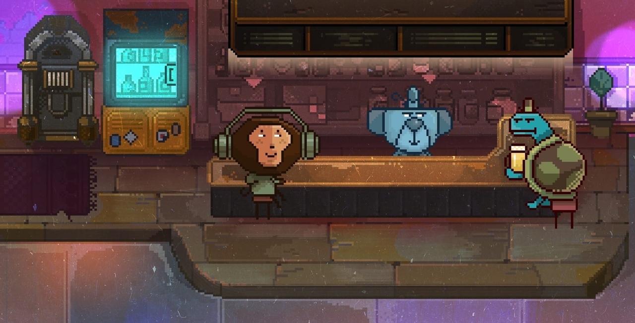 Кадр из разрабатываемой игры «Детектив Мопс»
