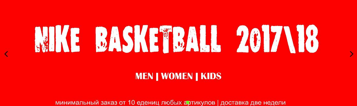 Nike Basket 17\18