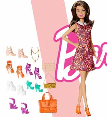 Кукла Barbie Тереза с набором модных туфелек