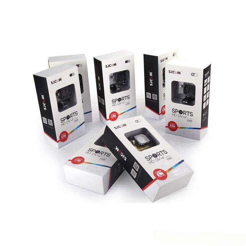 Новая модель экшн камеры SJCAM SJ5000+ в упаковке