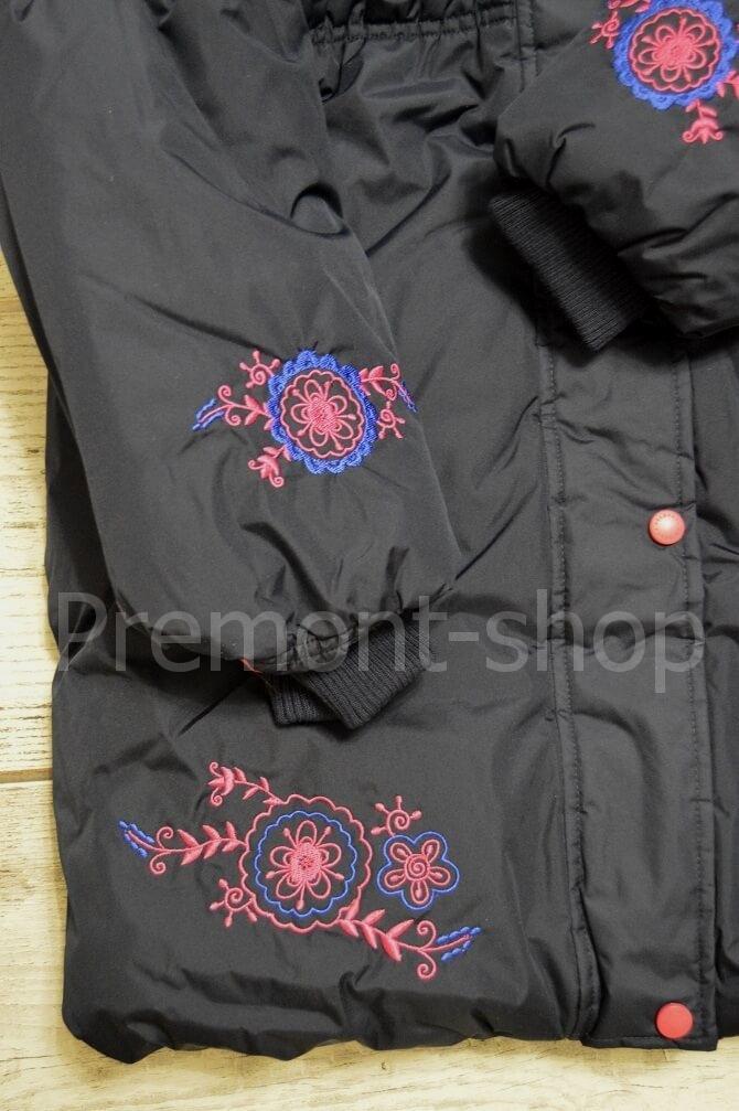 Вышивка на пальто Premont Квилт