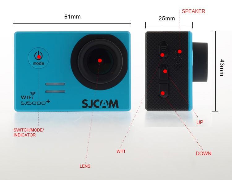 Новая модель экшн камеры SJCAM SJ5000 Plus. Обзор