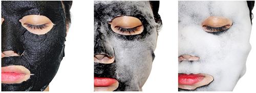 NO:HJ Black Intracell Boosting Mask: Черная Очищающая Маска Для Лица