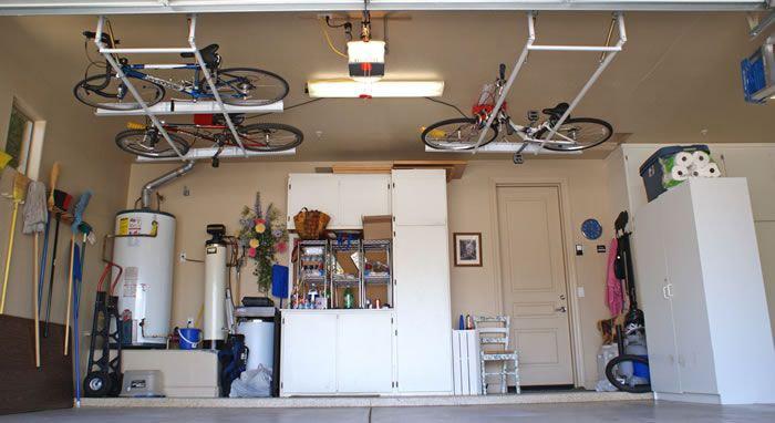 Хранение велосипедов на цокольном этаже