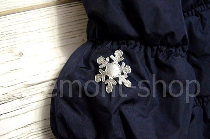 Снежинка-светоотражатель на пальто Premont Квилт