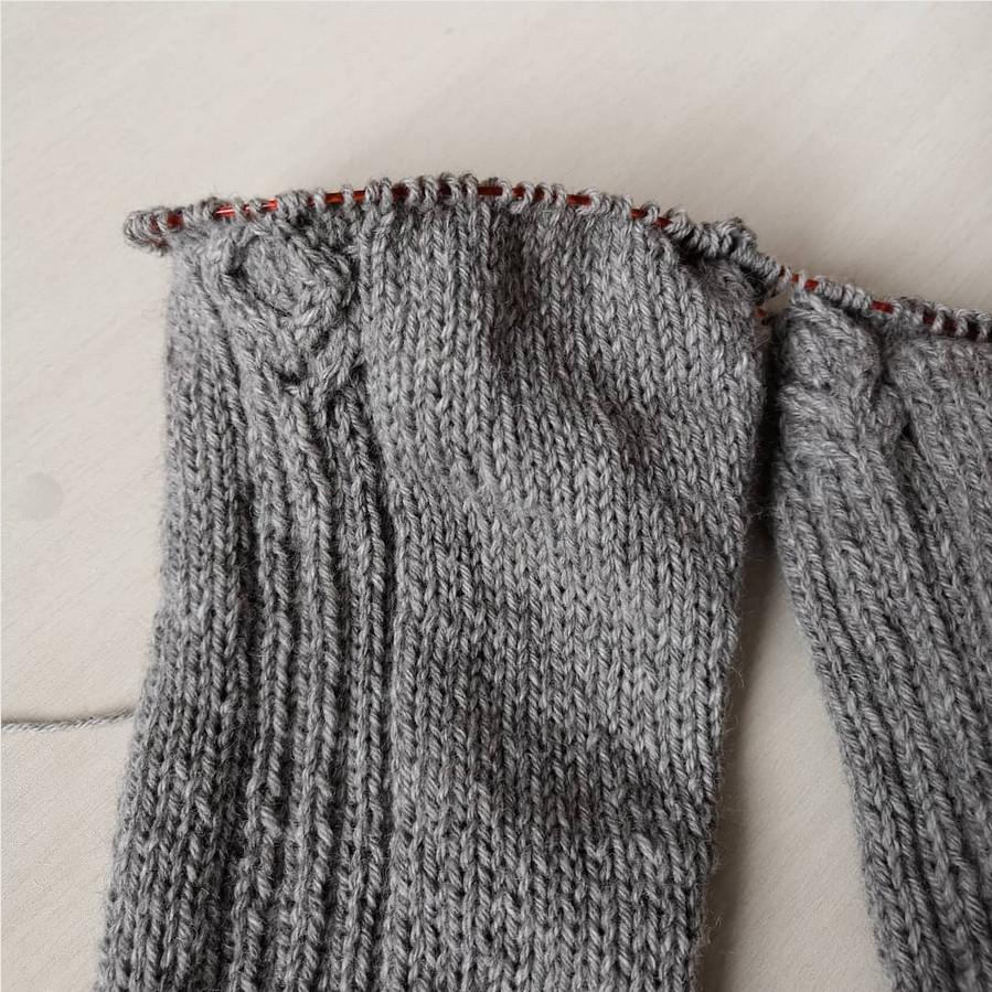 рукава свитера из пуха яка