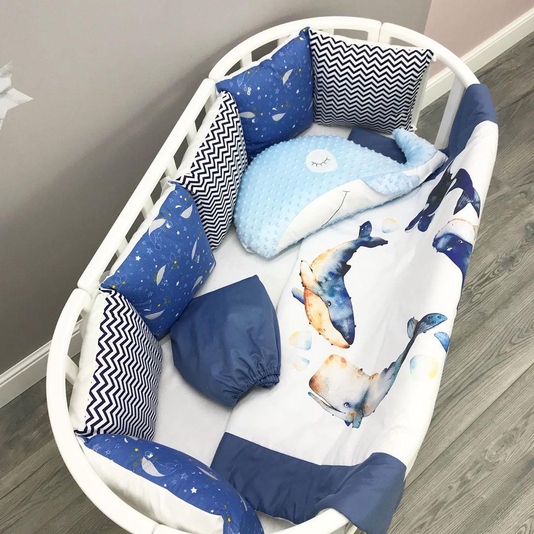 Купить ткани для пошива белья в детскую кроватку