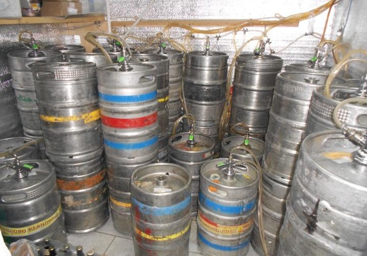 Кеги обычно являются собственностью завода-изготовителя пива