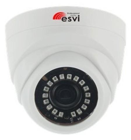 EVC-DL-S10 цветная купольная IP видеокамера, 1.0Мп, f=2.8мм