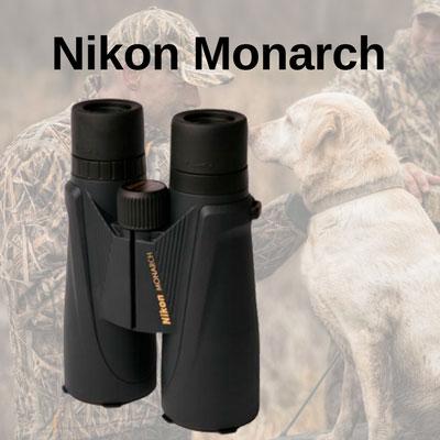 Бинокли Nikon Monarch для охоты и активного отдыха