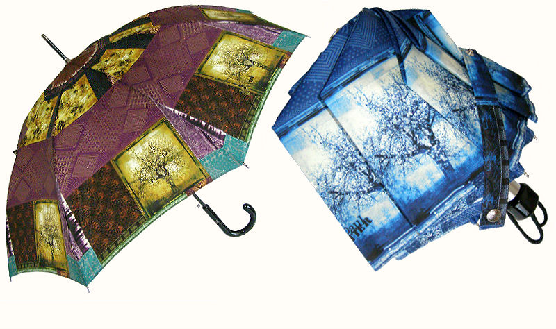 Стиль Пэчворк зонты от Гатье