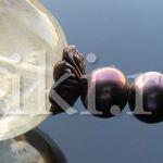 бусы жемчуг и кварц