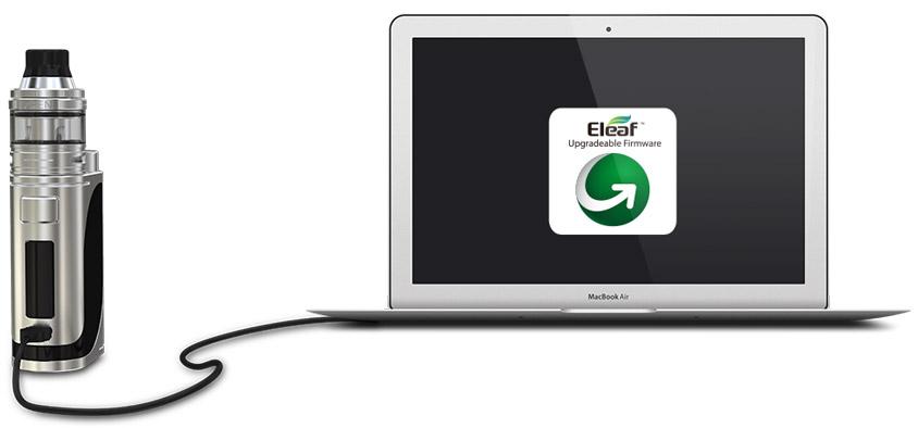 Обновление прошивки Eleaf iStick Pico 25