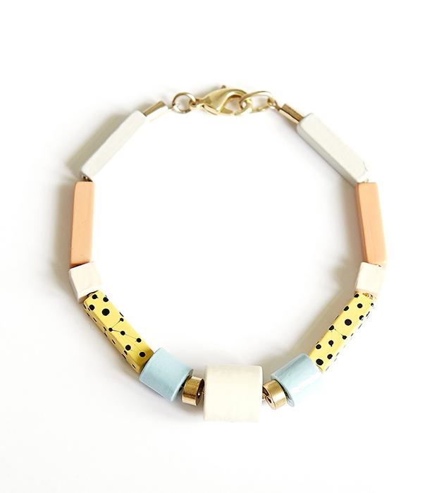 стильный браслет с геометричными бусинами Dizi от Apres Ski