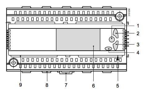 Схема контроллеров RLU