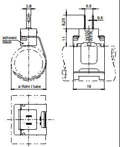 Размеры Siemens QAR36.430/109
