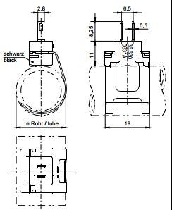 Размеры Siemens QAR36.630/109