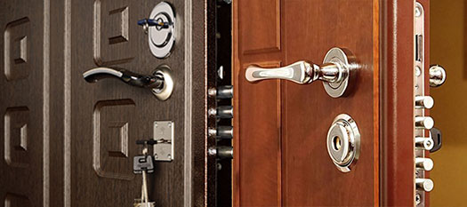 прочные надежные металлические двери