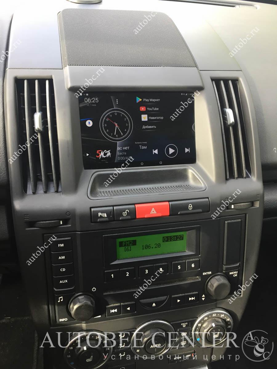 установка планшета в авто