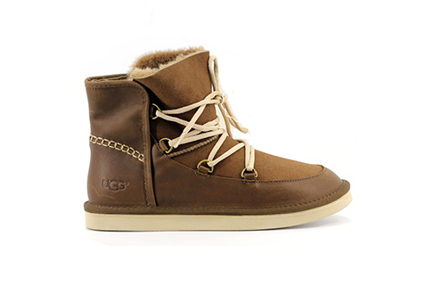 Close-up of Men's UGG Sneakers.