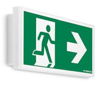 PRIMOS SGN Световой эвакуационный указатель для аварийного освещения автомобильных стоянок и парковок