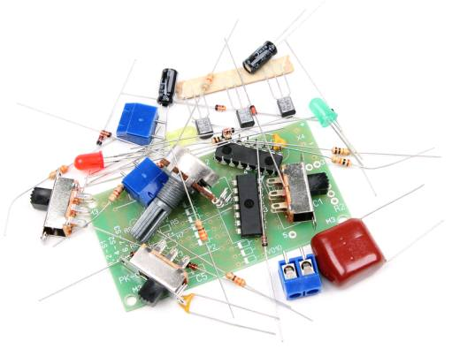 Радиоконструктор RL015. Игрушка СВЕТОФОР