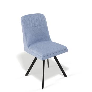 стул 122S черный/синий
