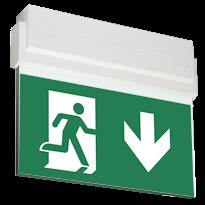 ESC 80 Световой эвакуационный указатель для автомобильных парковок и паркингов