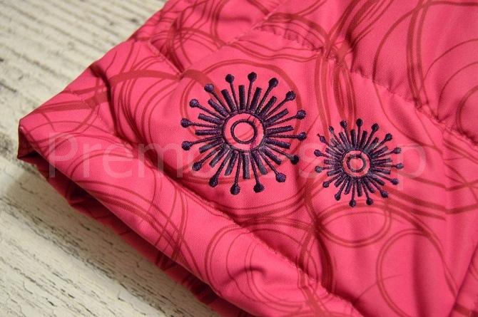 Вышивка на комплекте Каток Оттавы (нижний край)