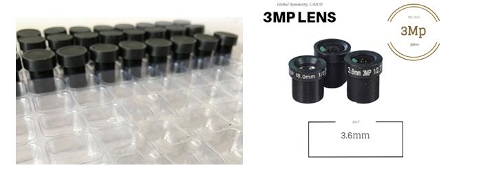 Объектив 3 Mp для видеокамер CAICO TECH