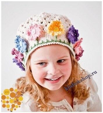 Декор для вязаной шапки