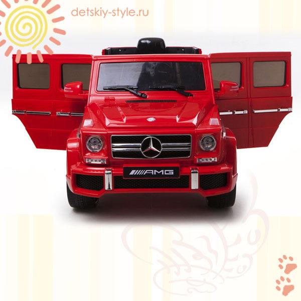 электромобиль river toys гелендваген g63 amg, лицензия, купить заказ, стоимость, отзывы, обзор, детский электромобиль ривер тойс гелендваген, бесплатная доставка, интернет магазин