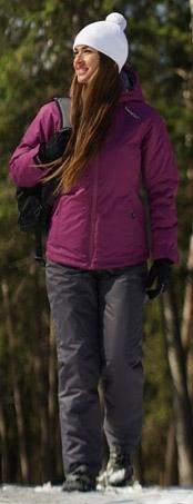 NSW431498 Утеплённая прогулочная лыжная куртка Nordski Motion Iris женская