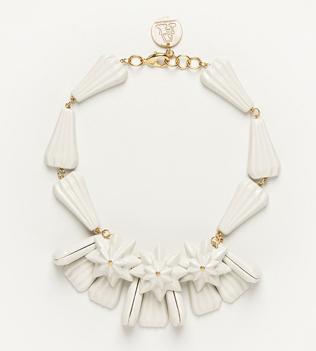 элегантное ожерелье из фарфора Diamond Star от испанского бренда ANDRES GALLARDO