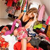 Как справиться с одеждой