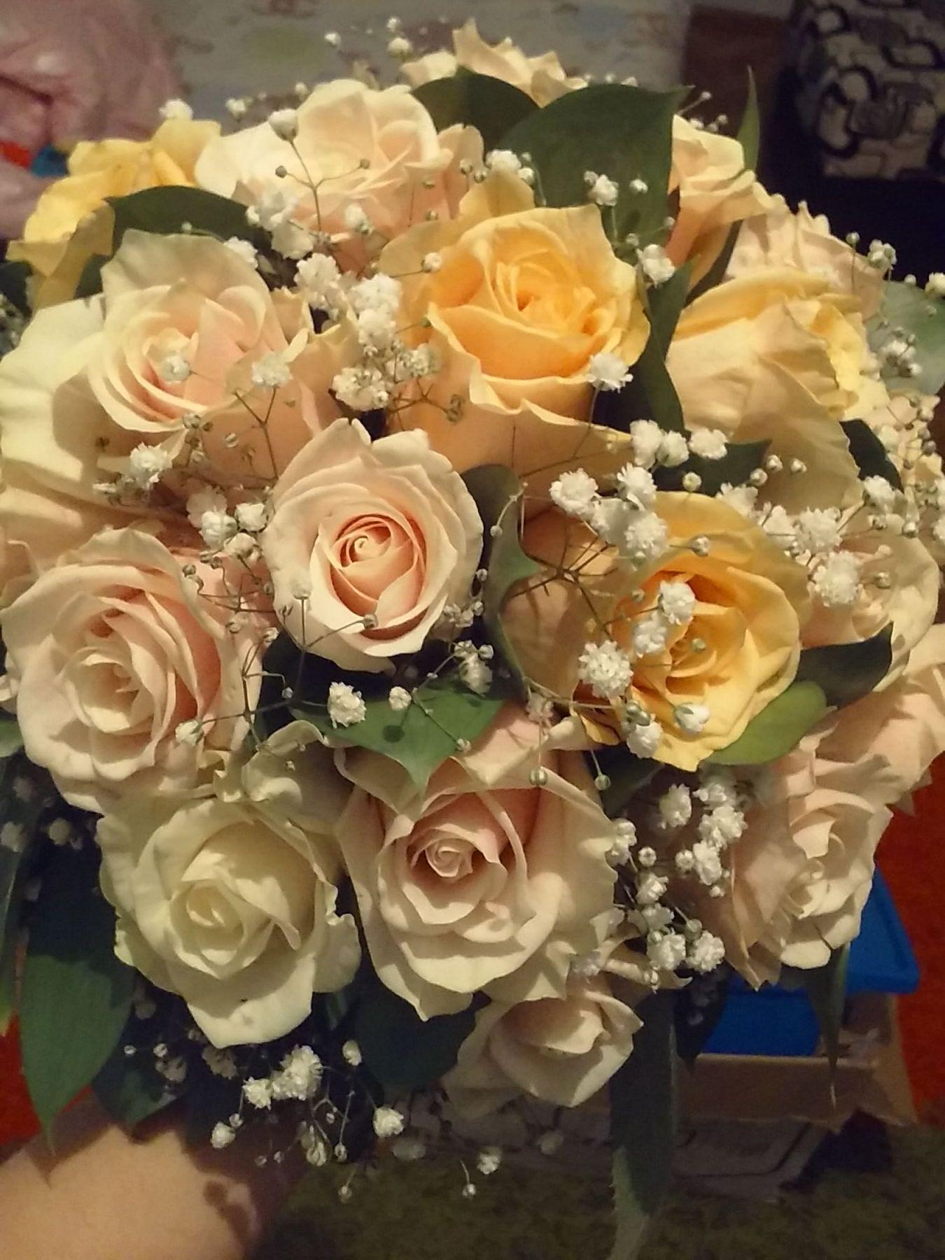 Букеты для невест алматы