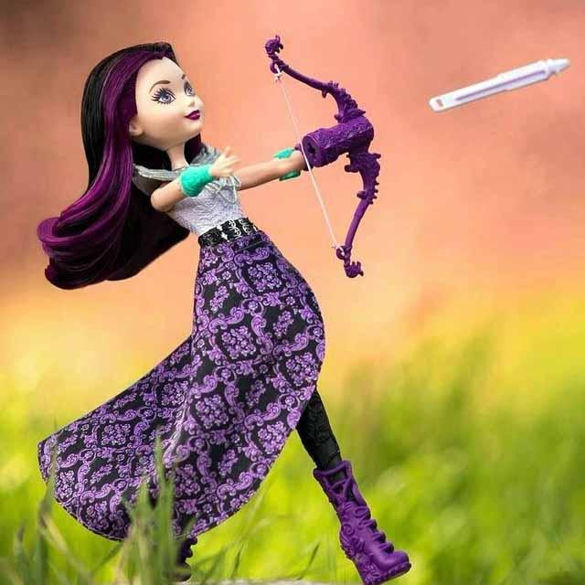 Кукла Рейвен Стрельба из Лука в Магии кукол
