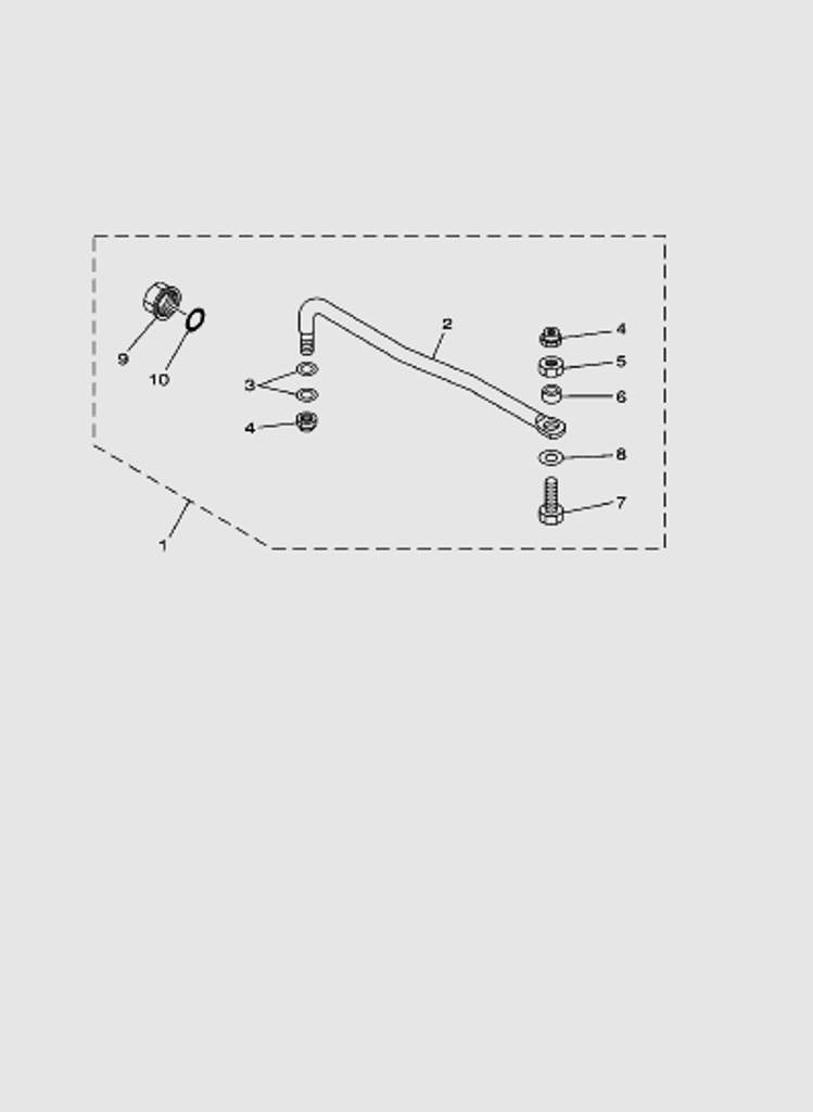 Тяга управления для лодочного мотора T40 Sea-PRO