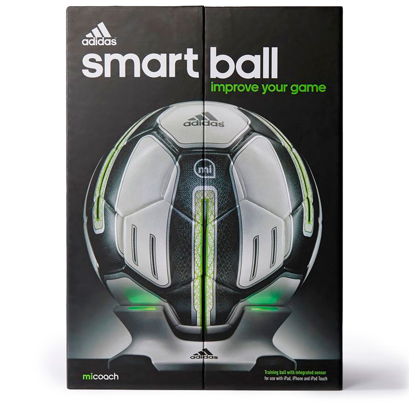 мяч Adidas miCoach Smart Ball Training