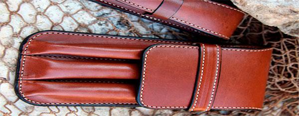 кожаные аксессуары для письменных принадлежностей
