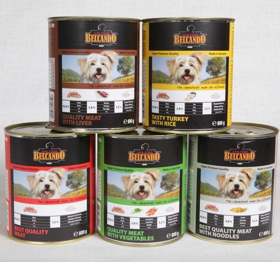 консервы для собак Belcando