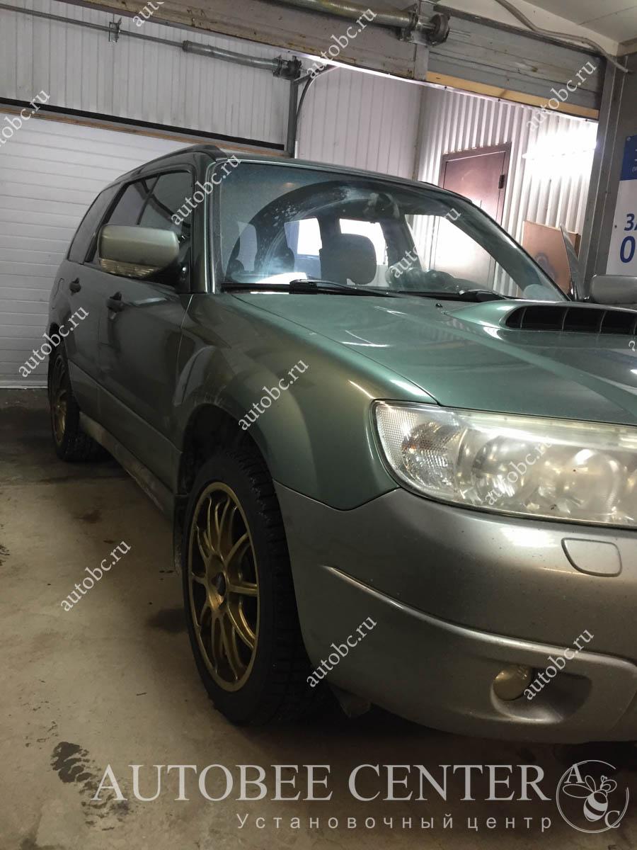 Subaru Forester (блокиратор Дракон на КПП)