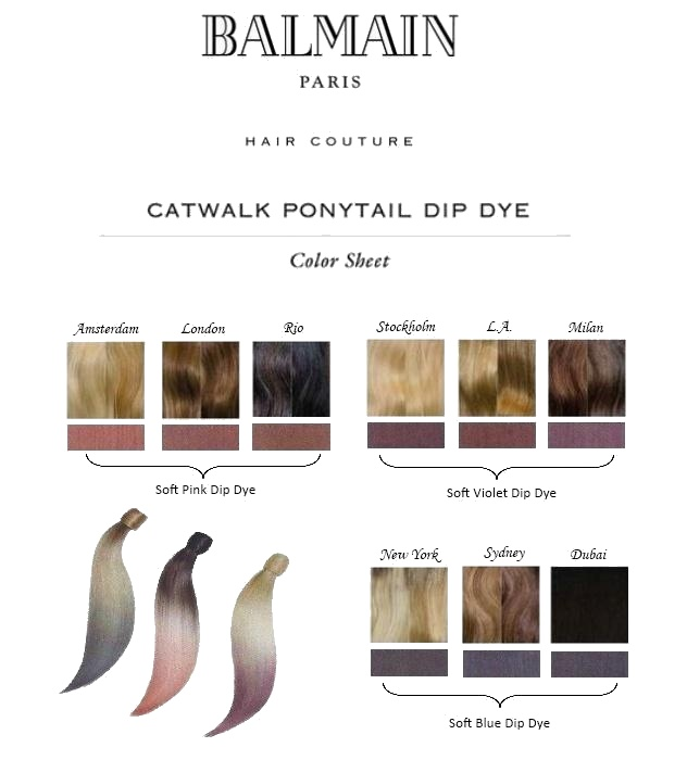 Balmain extensions dubai